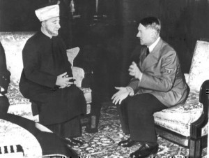 mufti de Jerusalém Haj Amin al Husseini e Adolf Hitler 1941 - Heinrich Hoffmann (1885–1957)  Institution	 German Federal Archives